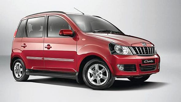 Mahindra Quanto Compact SUV equipped with a semi-automatic (AMT) gearbox
