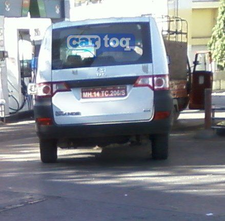 Tata Sumo Grande MUV Spyshot Photo