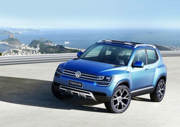 Volkswagen Taigun Compact SUV Concept Image