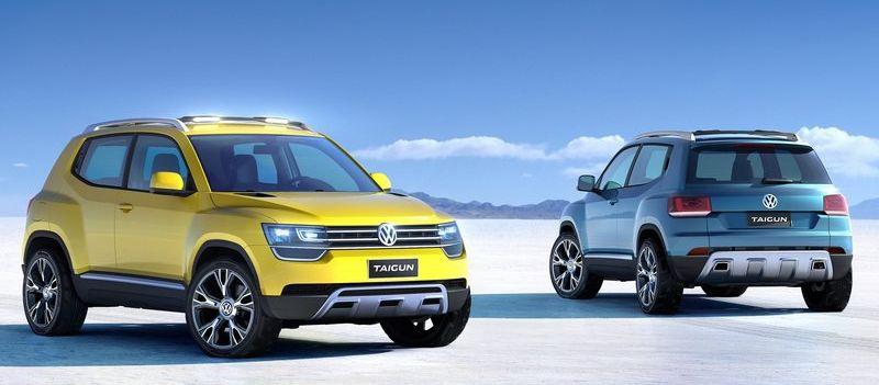 Volkswagen Taigun compact SUV Auto Expo 2014 bound