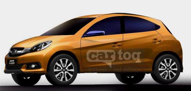 Honda Brio Compact SUV Render Pic