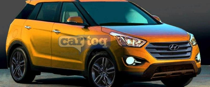 India bound Hyundai ix25 Compact SUV : New Details Emerge