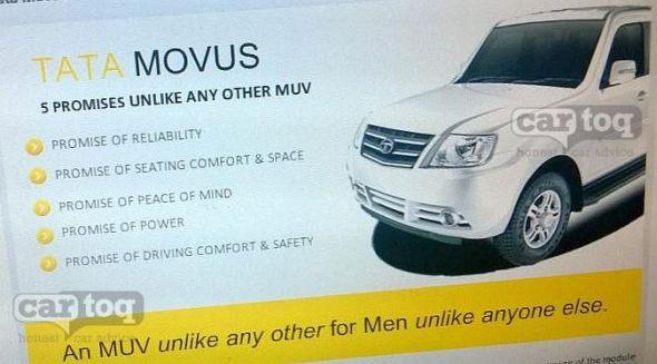 2014 Tata Movus MUV Pic