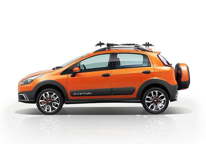 Fiat Avventura Crossover Styled Hatchback's Variant Details Leaked