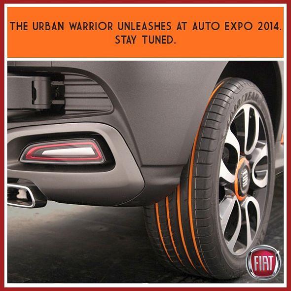Fiat Punto Avventura Cross Hatchback Teaser Image