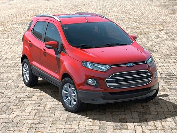 Ford EcoSport with Sunroof Pic