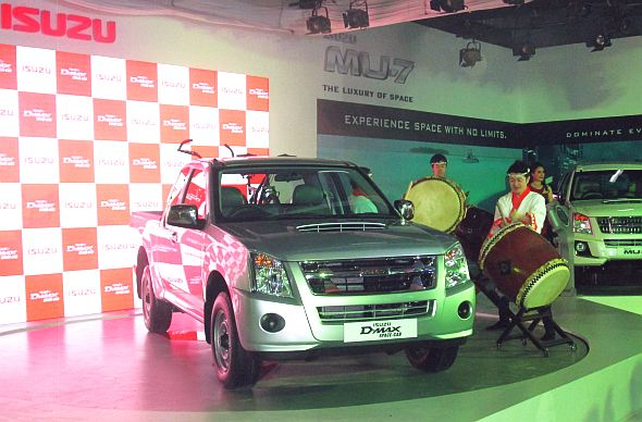 Isuzu D-Max Space Cab Pick Up Truck Image