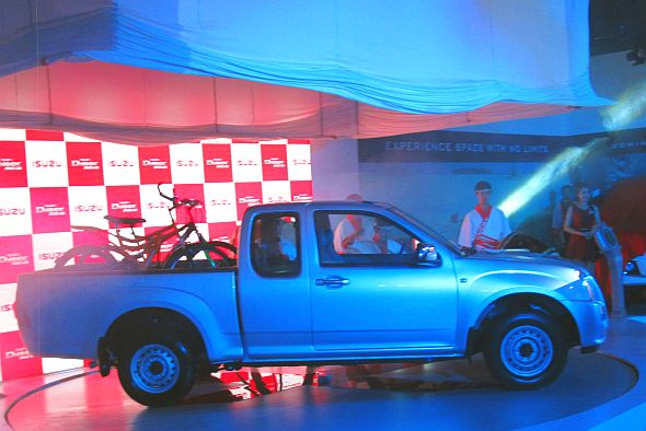 Isuzu D-Max Space Cab Pick Up Truck Pic