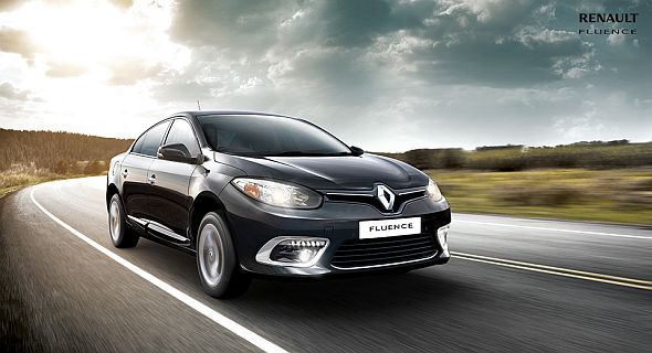 Facelifted 2014 Renault Fluence Sedan Picture