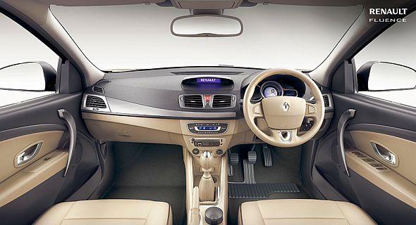 Renault Fluence Facelift Dashboard Pic