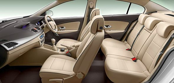 Renault Fluence Facelift Interiors Image