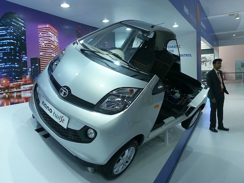 Tata Nano Twist with an automated manual transmission pic