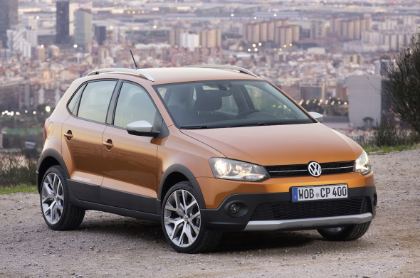 2014 Volkswagen Cross Polo Facelift Image
