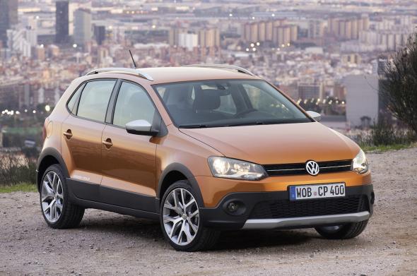 2014 Volkswagen Cross Polo Facelift Image