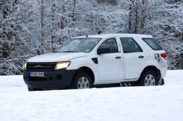 2015 Ford Endeavour/Everest SUV Spyshot Pic