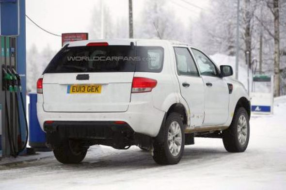 2015 Ford Endeavour/Everest SUV Spyshot Photo