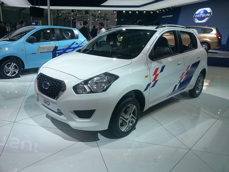 Datsun Go Hatchback with the Sport Kit Pic