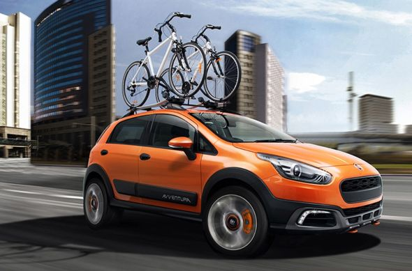 Fiat Avventura Crossover styled hatchback pic