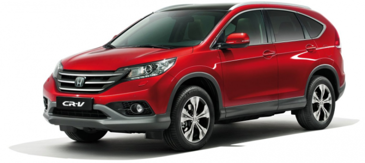 Honda CR-V Crossover gets additional features in India