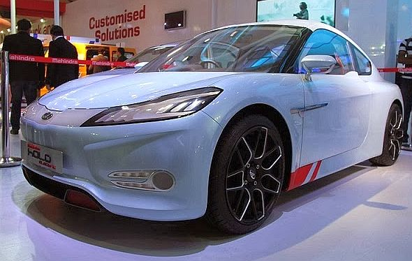 Mahindra Halo Electric Sports Car 3