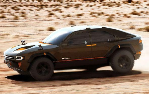 Mahindra Komodo SUV Concept Image