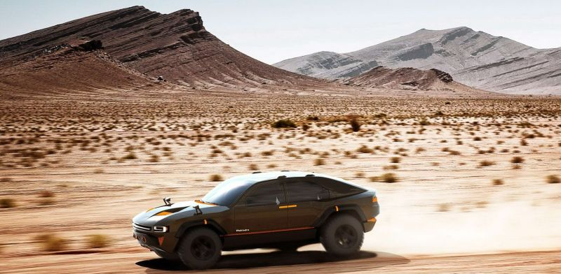 The Mahindra Komodo SUV Concept does a Lamborghini Urus, well almost!