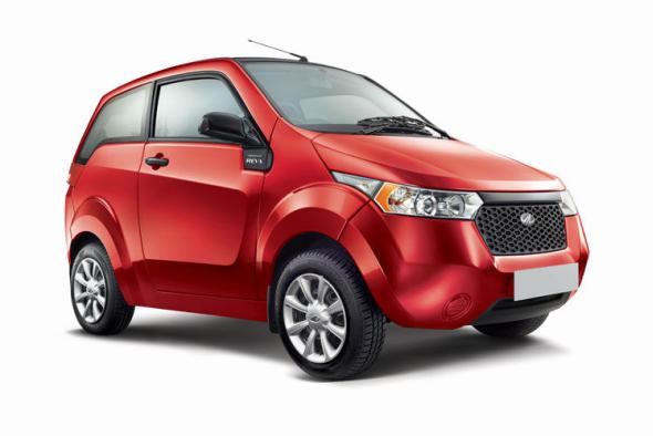 Mahindra Reva E2O Electric Hatchback Pic
