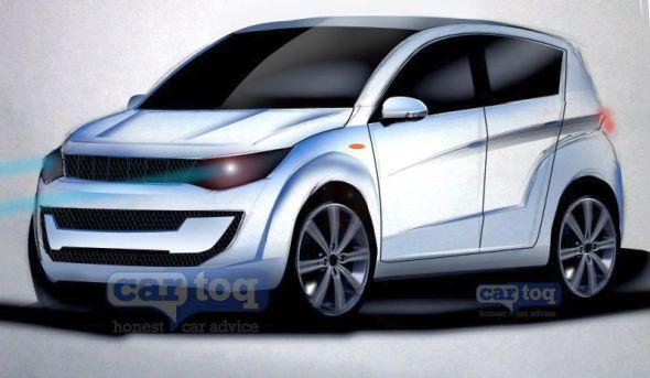 Mahindra S101 Compact SUV Render Pic
