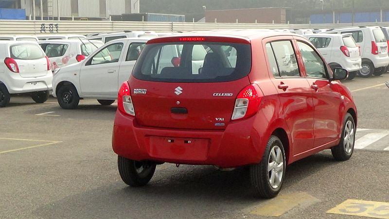2014 Indian Auto Expo Maruti Suzuki Celerio Hatchback
