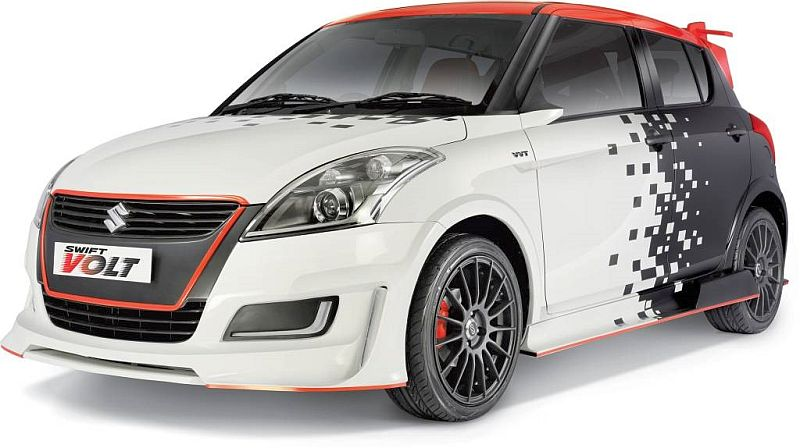 Maruti Suzuki Swift Volt Custom Kit For Hatchback Car