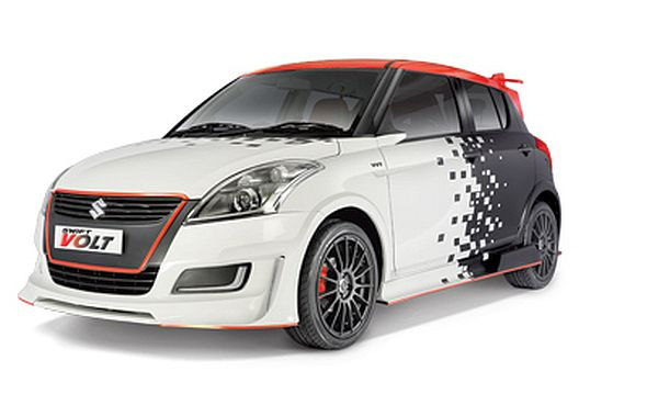 Part Ii Interesting Custom Cars From Maruti Suzuki At The Auto Expo