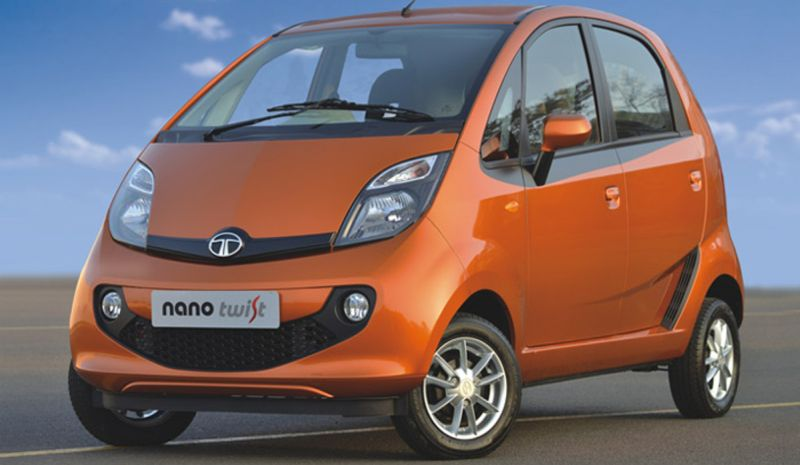 Tata Nano Facelift Picture
