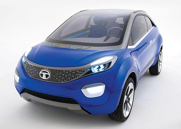 Tata Nexon compact crossover SUV concept pic
