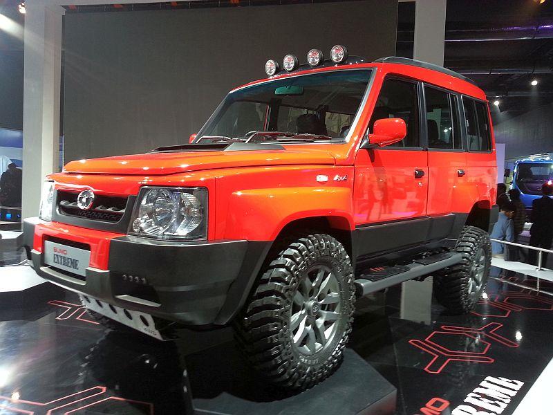 New Tata Safari 2018 Price >> 2014 Indian Auto Expo: Tata Sumo Xtreme and Safari Storme Ladakh SUV concepts