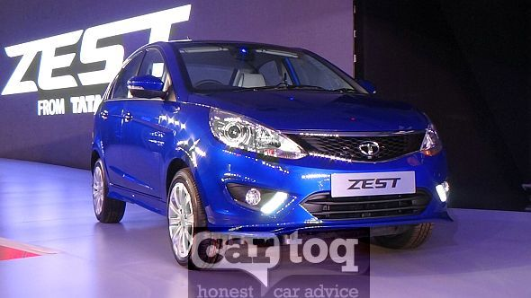 2014 Tata Zest Compact Sedan Front Pic