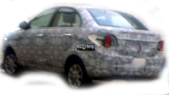2014 Tata Zest (Code-Named the Falcon 5) Compact Sedan Spyshot Photo