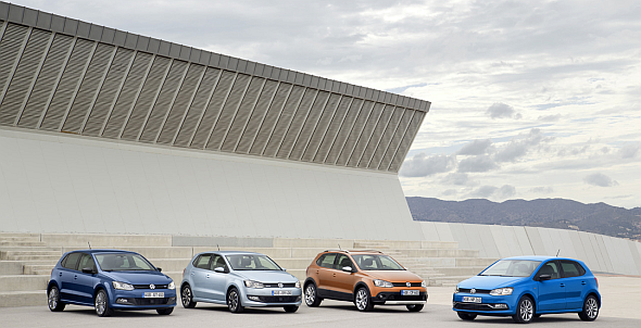 2014 Volkswagen Polo Hatchback Family Pic