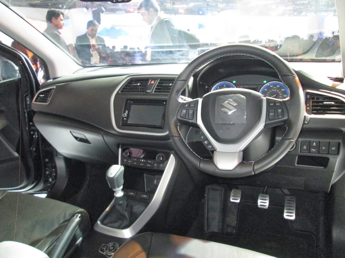 auto expo 2014 india maruti suzuki unveils sx4 crossover and ciaz yl1 sedan. Black Bedroom Furniture Sets. Home Design Ideas