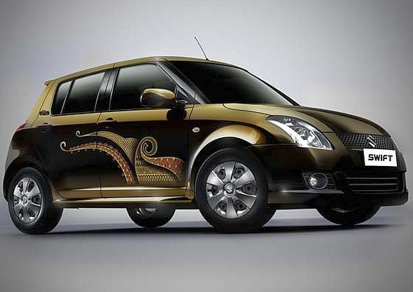 Car Vinyl Wrap Cost >> 5 good ideas to modify a Maruti Suzuki Swift hatchback car