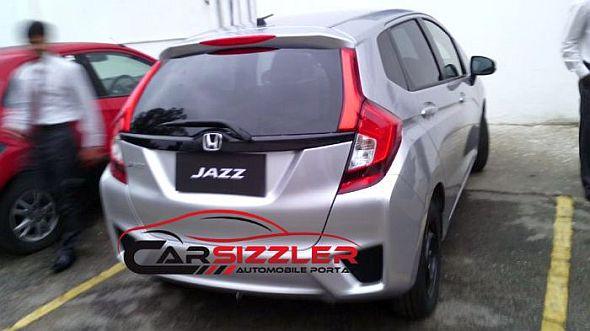 2014 Honda Jazz B+ Segment Hatchback Rear Pic