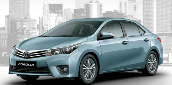 2014 Toyota Corolla Altis Luxury Sedan Photo