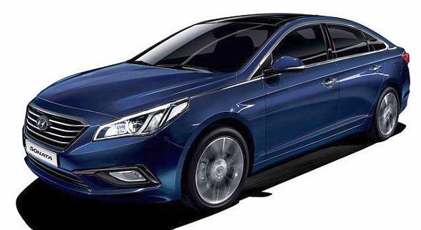 2015 Hyundai Sonata Sedan Facelift Picture