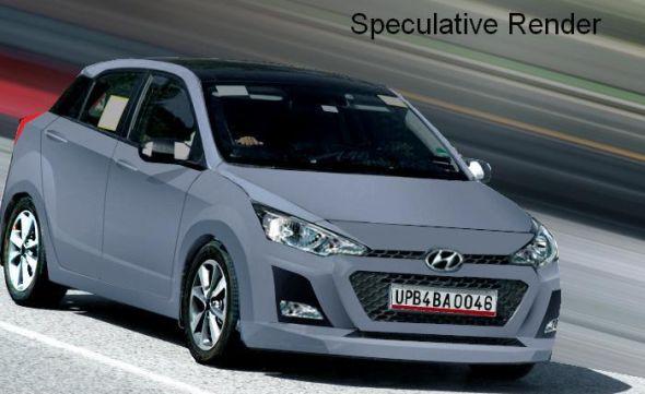 2015 Hyundai i20 Render Pic