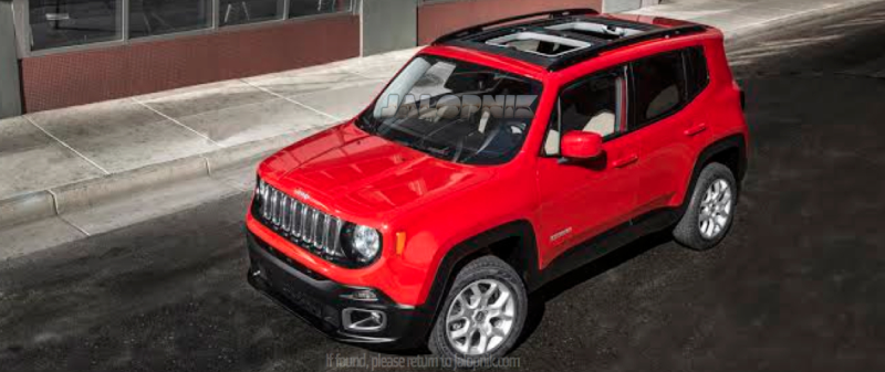 5 reasons on why you should look forward to the Jeep Renegade SUV