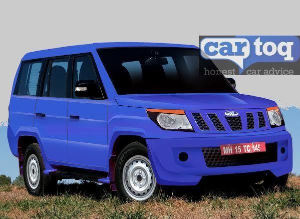 CarToq Exclusive – Mahindra U301 Bolero Replacement MUV Rendered