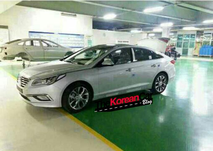 2015 Hyundai Sonata Fluidic Facelift Pic
