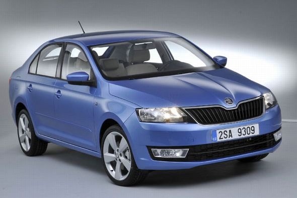 Euro-Spec Skoda Rapid Sedan Pic