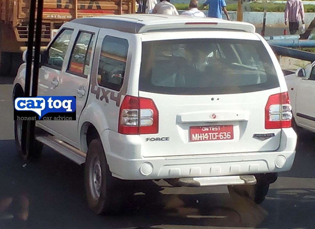 CarToq Exclusive: Force One 4X4 SUV with jump seats and BS3 spec spotted