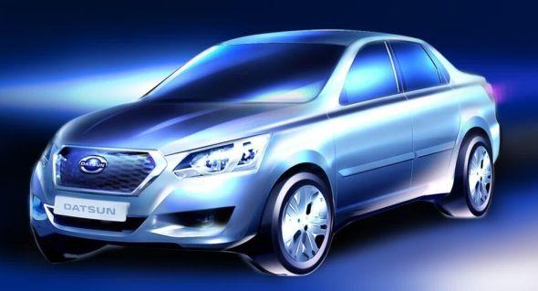 Lada Granta based Datsun sedan Pic