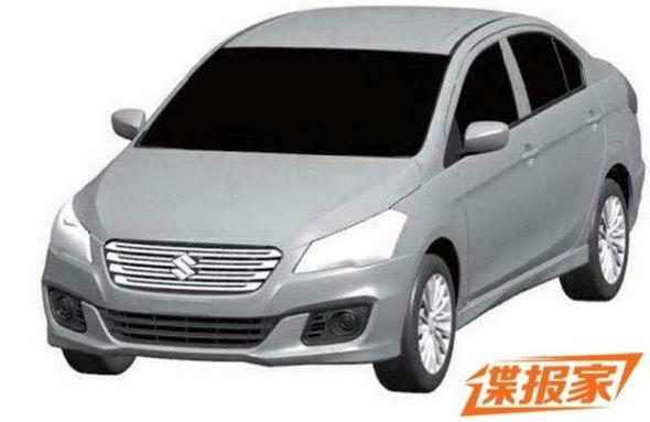 2014 Maruti Suzuki Ciaz Patent Image
